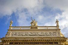 Free Hofburg Theater Facade In Vienna, Austria Stock Photo - 28218520