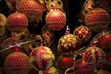 Free Colorful Shiny Christmas Globes Stock Photography - 28218542