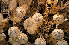 Shiny Christmas Globes Stock Image