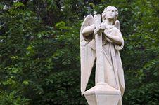 Angel Sculpture Stock Images