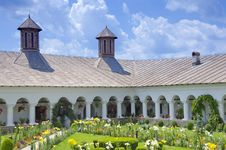 Free Monastery Courtyard Stock Photos - 28218713