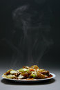 Free Beef With Vegetables And Bamboo Stock Photo - 28222840