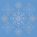 Free Snowflakes Ornament Royalty Free Stock Images - 28228319