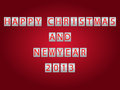 Free Digital Christmas And New Year 2013 Stock Image - 28229131