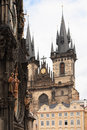 Free Church Of Our Lady In Prague Royalty Free Stock Image - 28229306