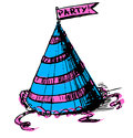 Free Party Cap Decorated Stock Images - 28229624