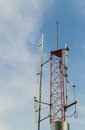 Free TV And Radio Antenna Tower Stock Images - 28229774