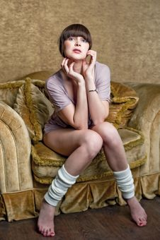Free Girl Posing Stock Photos - 28220133