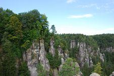 Free View Landscape Elbsandsteingebirge Stock Photography - 28220992