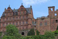 Free Palace Of Heidelberg Stock Image - 28221381