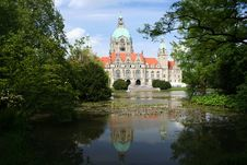 Free The City Hall Of Hannover, Germany Royalty Free Stock Images - 28222729