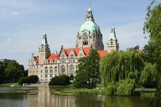 Free The City Hall Of Hannover, Germany Stock Image - 28222731