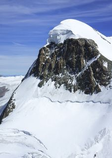 Free Snow Capped Breithorn Royalty Free Stock Image - 28223266