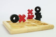 Free Tic-tac-toe Classic Game Royalty Free Stock Photo - 28226935