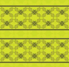 Free Green Floral Lace Pattern Stock Image - 28228281