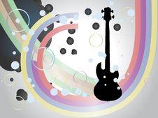 Free Guitar Illustration Royalty Free Stock Photos - 28228288