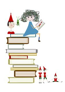 Free Child Reads A Book Royalty Free Stock Photography - 28228727