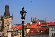 Prague Architecture Stock Photo