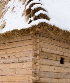 Free Thatched Roof Stock Photo - 28229500