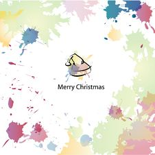 Free Christmas Cartoon Background Royalty Free Stock Image - 28230826