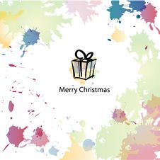 Free Christmas Cartoon Background Royalty Free Stock Photos - 28230848