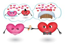 Free Dreams Of Loving Hearts Royalty Free Stock Photos - 28232528