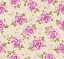 Free Vintage Seamless Pattern Royalty Free Stock Images - 28238599