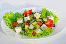 Free Greek Salad Horizontal Stock Images - 28239604