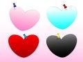Free Heart Note Royalty Free Stock Photo - 28243695