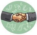 Free Handshake Royalty Free Stock Photos - 28249418