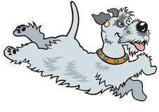 Free Cartoon Happy Dog Stock Photo - 28240410