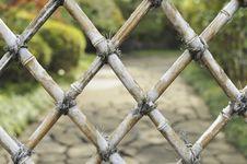 Free Bamboo Fence Stock Image - 28244971