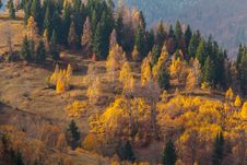 Free Beautiful Autumn Scenery In A Remote Mountain Location Royalty Free Stock Photography - 28247217