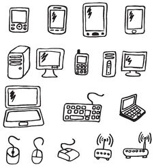 Free Icons - Electronics Stock Photo - 28248950