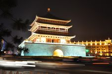 Free Xian China Tower Stock Photography - 28249462