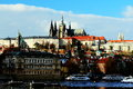 Free Prague Castle, Little Qarter, St. Nikolas Church Stock Photos - 28251633