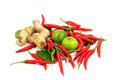 Free Thai Food Ingredient Isolated On White Stock Photography - 28251732