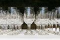 Free Empty Wine Glasses Stock Photos - 28254303