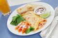 Free Spicy Asian Omelette Royalty Free Stock Photo - 28259435
