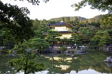 Free Golden Pavillion In Kyoto Japan Royalty Free Stock Photography - 28250197