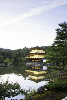 Free Kinkakuji Temple, The Golden Pavilion, Kyoto - Japan Stock Photos - 28250223