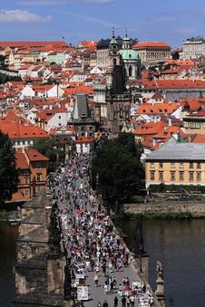 Free Prague Castle, Little Quarter, St. Nikolas Church Stock Photos - 28251423