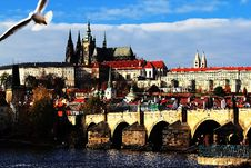 Free Prague Castle, Little Qarter, Prague, Czech Republic Royalty Free Stock Image - 28251656