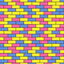 Free Colorful Bricks Royalty Free Stock Images - 28252419