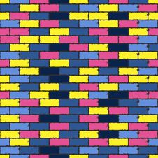 Free Colorful Aged Bricks Stock Photo - 28252550