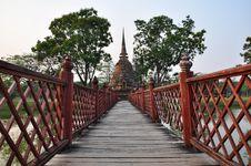 Free Sukhothai Historical Park Stock Images - 28253534