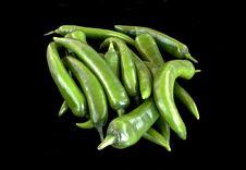 Free Greeen Pepper Chili Stock Photos - 28254403