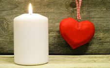 Free Light My Heart... Royalty Free Stock Photos - 28255478