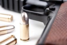 Free Bullets And Gun Stock Photos - 28255813