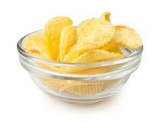 Free Chips Bowl Stock Image - 28256101